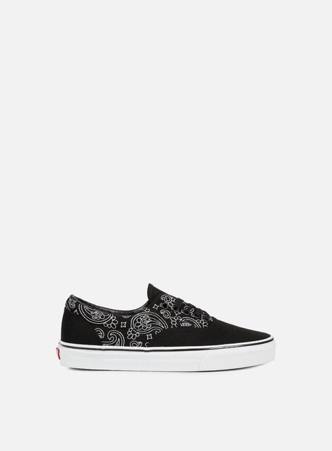 sneakers vans era bandana stitch black true white