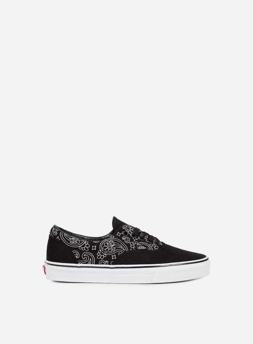 Vans - Era Bandana Stitch, Black/True White
