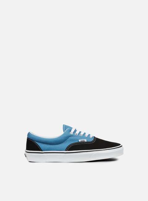 sneakers vans era black cendre blue