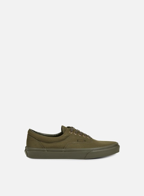 sneakers vans era gold mono ivy green
