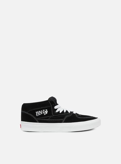 sneakers vans half cab black