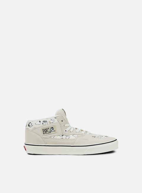 sneakers vans half cab peanuts snoopy family marshmallow