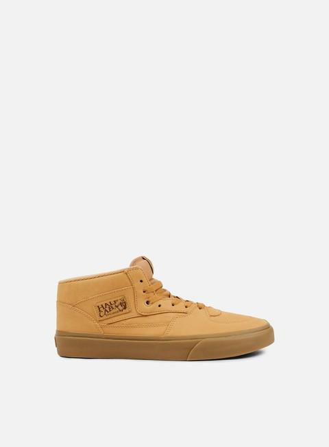 sneakers vans half cab vansbuck light gum mono