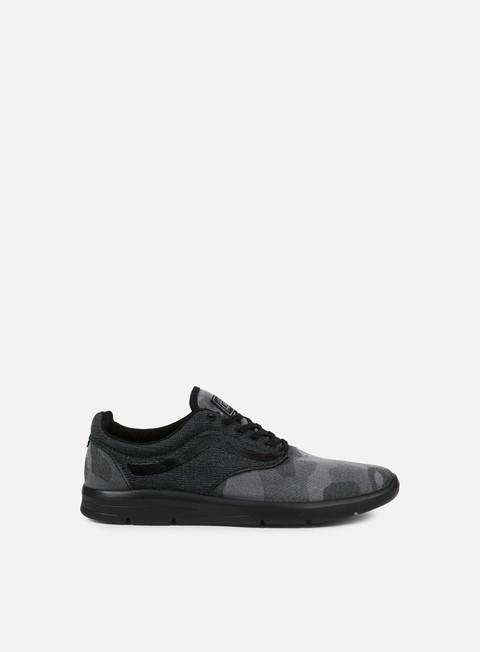 sneakers vans iso 15 camo textile black black