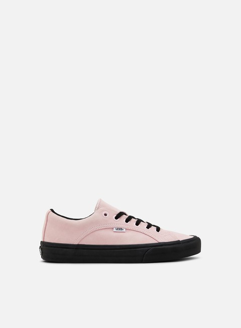 sneakers vans lampin chalk pink black