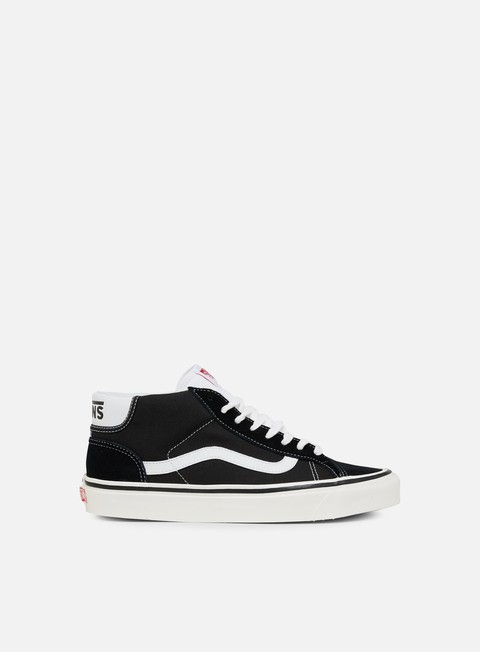 sneakers vans mid skool 37 dx anaheim factory black white