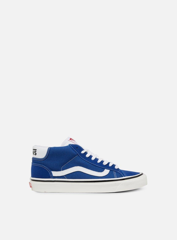 Vans Anaheim Factory Mid Skool 37 Sneaker Uomo VA3MUOQA5 Og Blue