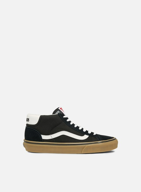 sneakers vans mid skool 37 power pack black gum