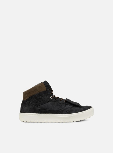 sneakers vans mountain edition waxed suede black