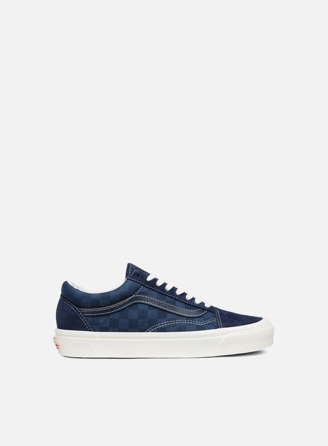sneakers vans og old skool lx suede canvas checkerboard