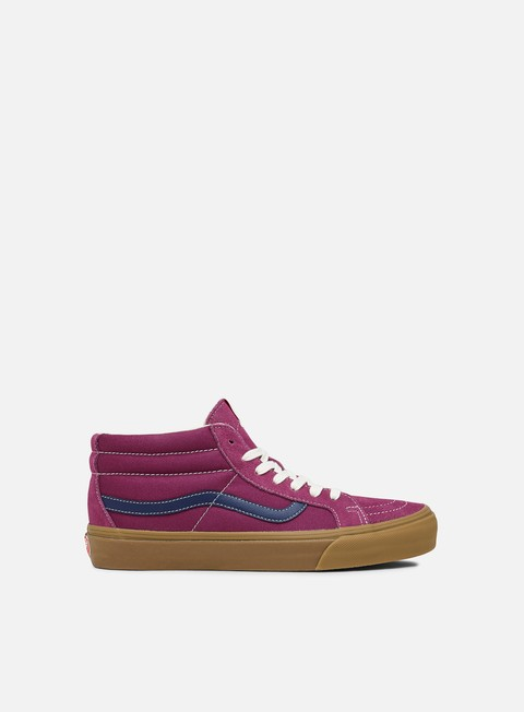 Low Sneakers Vans OG Sk8 Mid LX Suede/Canvas