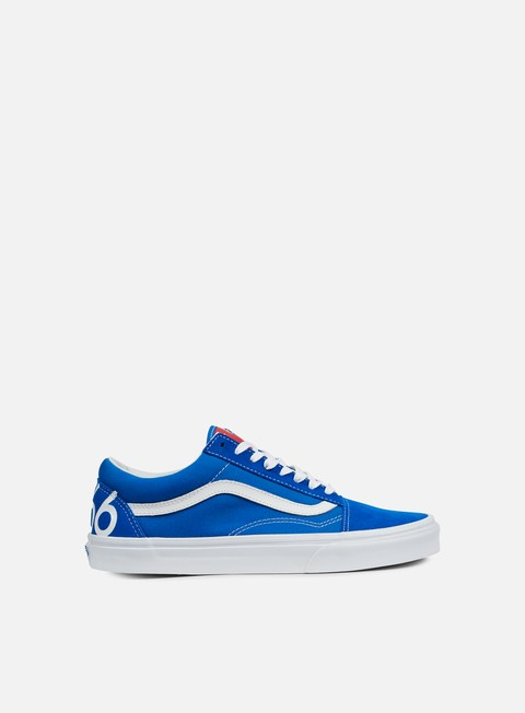 sneakers vans old skool 1966 blue white red