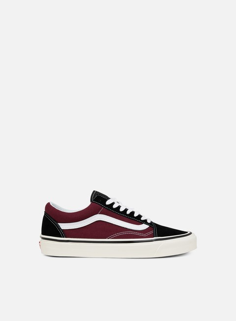 sneakers vans old skool 36 dx anaheim factory black og burgundy
