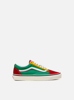 Vans - Old Skool 36 DX Anaheim Factory, Og Red/Og Emerald/Og Yellow