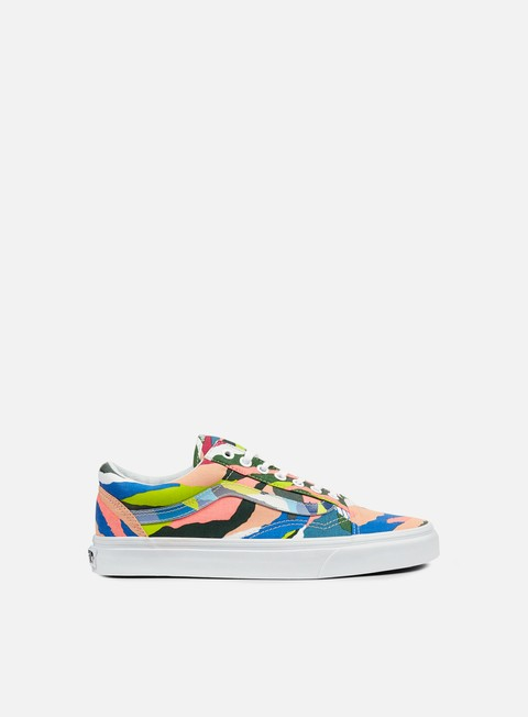 sneakers vans old skool abstract horizon multicolor