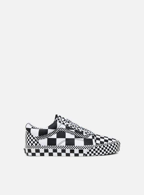 Outlet e Saldi Sneakers Basse Vans Old Skool All Over Checkerboard
