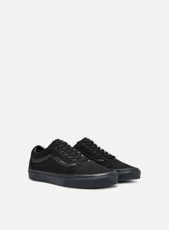 Vans - Old Skool, Black/Black 2