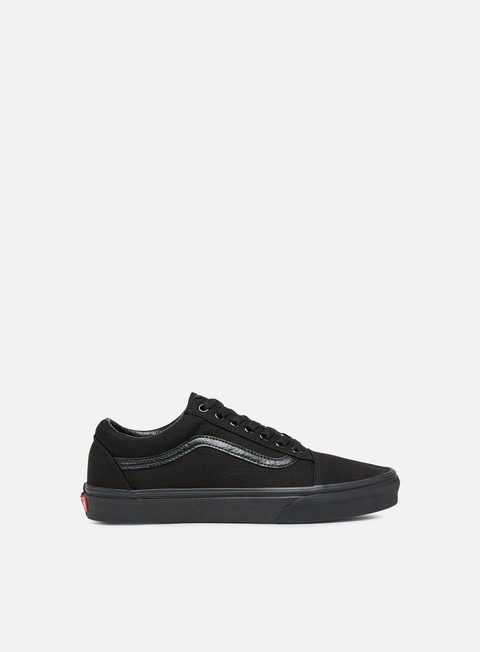 sneakers vans old skool black black