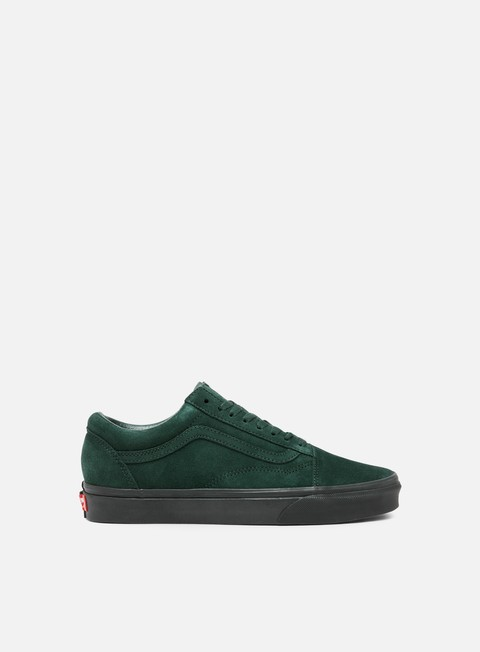 sneakers vans old skool black outsole darkest spruce black