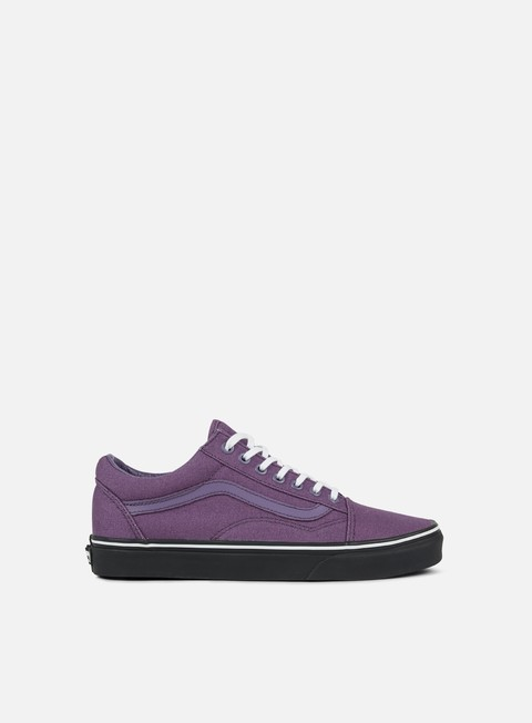 sneakers vans old skool black outsole montana grape black