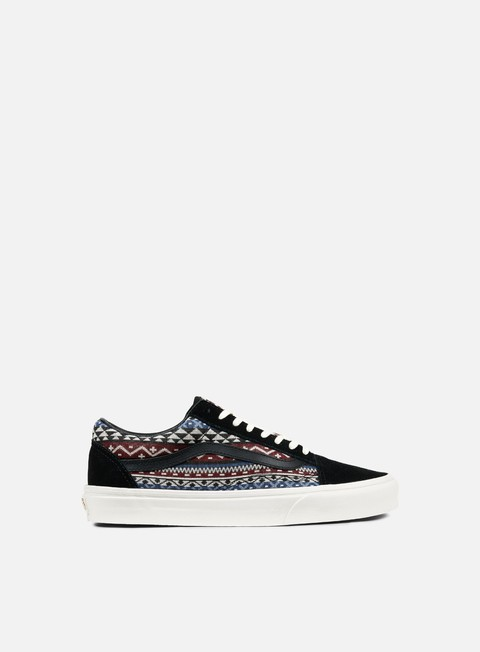 sneakers vans old skool blanket weave port royale dress blues