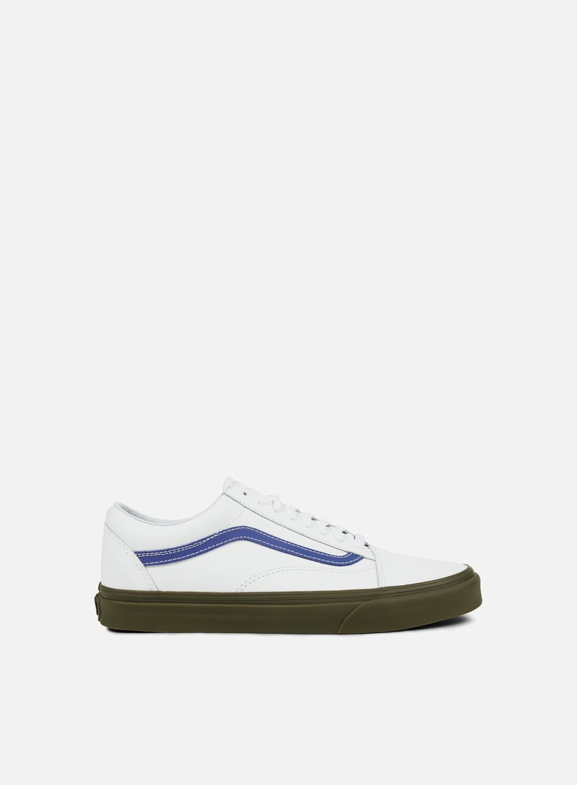 Vans - Old Skool Bleacher, True White/Delft/Gum