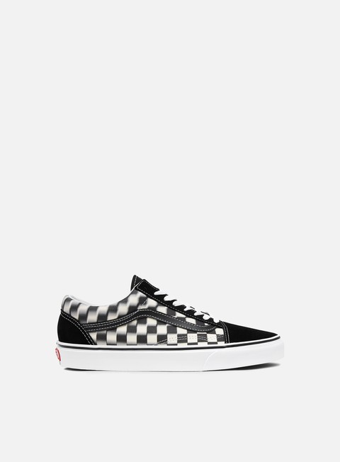 Low Sneakers Vans Old Skool Blur Check