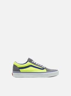 Vans - Old Skool Brite, Frost Grey/Neon Green 1