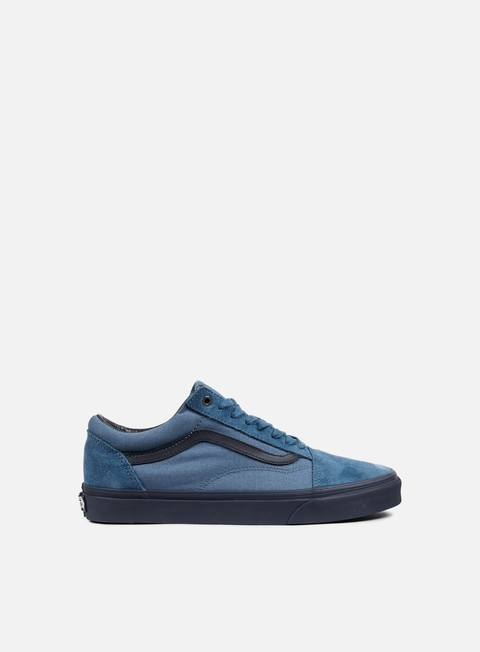 sneakers vans old skool c and d blue ashes parisian night