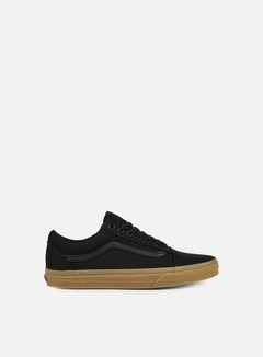 Vans - Old Skool Canvas Gum, Black/Light Gum