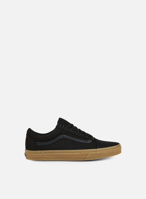 sneakers vans old skool canvas gum black light gum