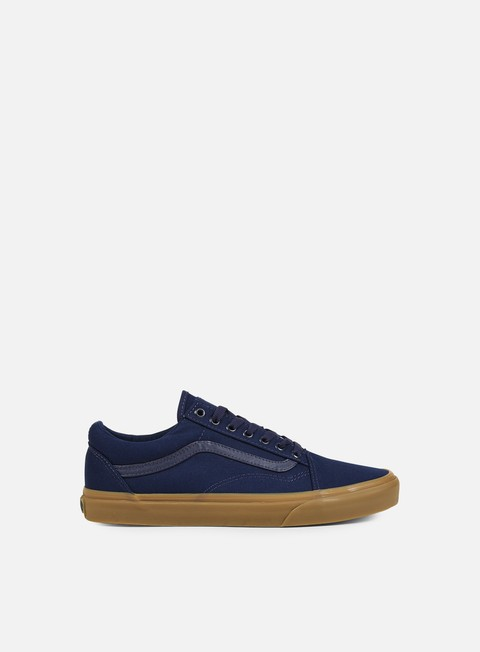 sneakers vans old skool canvas gum eclipse light gum