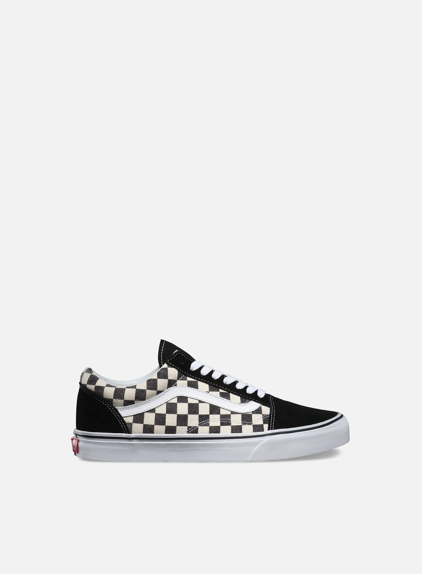Vans - Old Skool Checkerboard, Black/Espresso