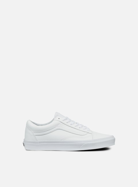 sneakers vans old skool classic tumble true white