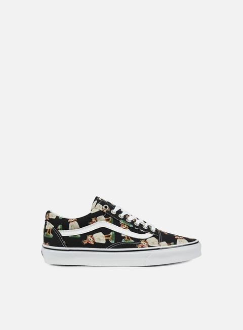 sneakers vans old skool digi hula black true white