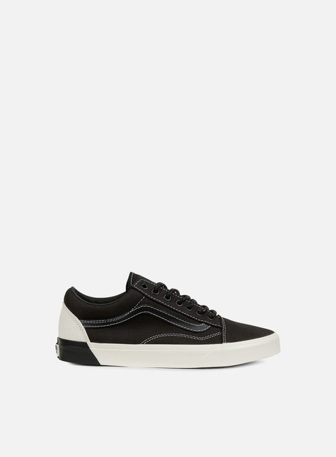sneakers vans old skool dx blocked classic white black