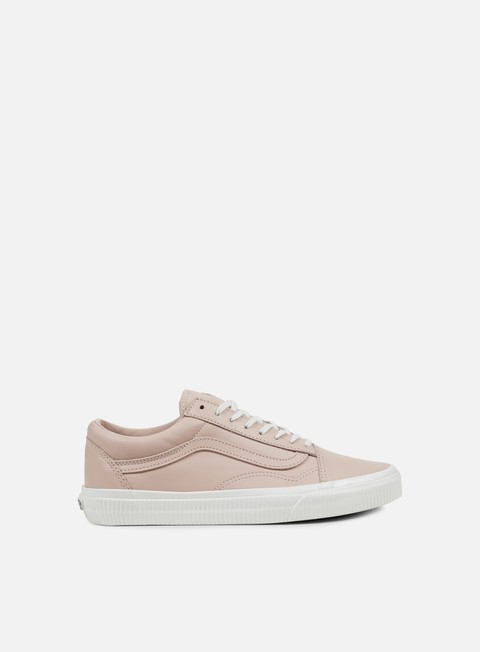 sneakers vans old skool embossed sidewall sepia rose blanc de blanc