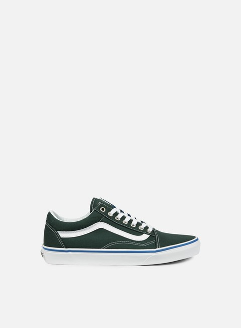 sneakers vans old skool green gables true white