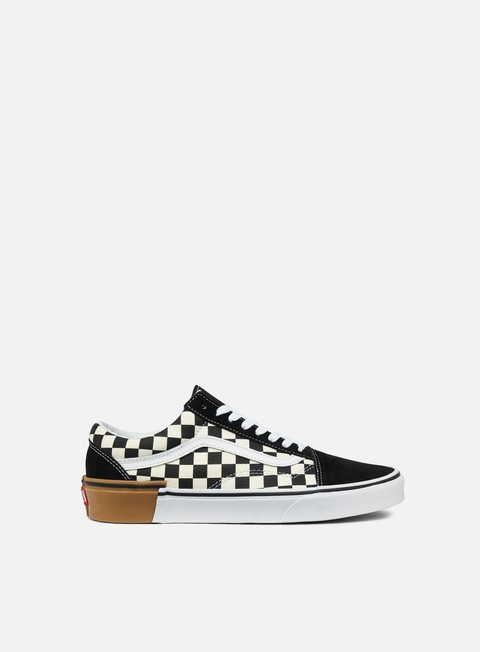 sneakers vans old skool gum block checkerboard