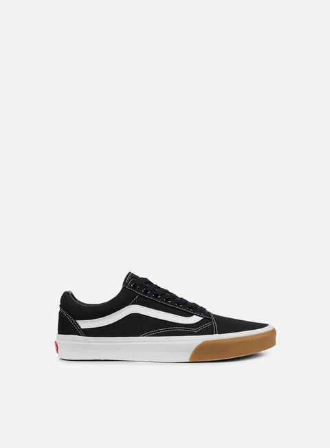 sneakers vans old skool gum bumper black true white