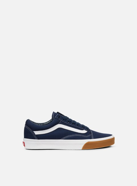 sneakers vans old skool gum bumper dress blues true white