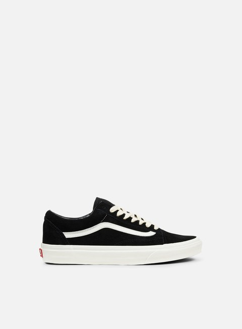sneakers vans old skool herringbone lace black marshmallow