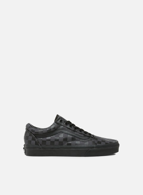 sneakers vans old skool high density black checkerboard