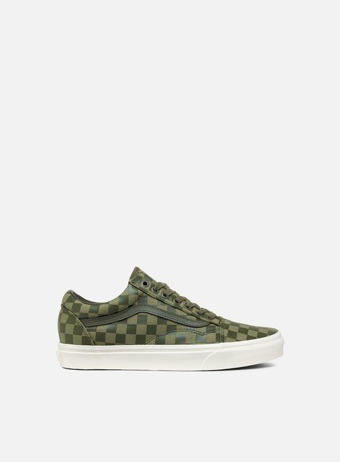 sneakers vans old skool high density dusty olive