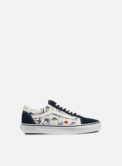Vans - Old Skool Hula Stripes, Dress Blues/True White 1