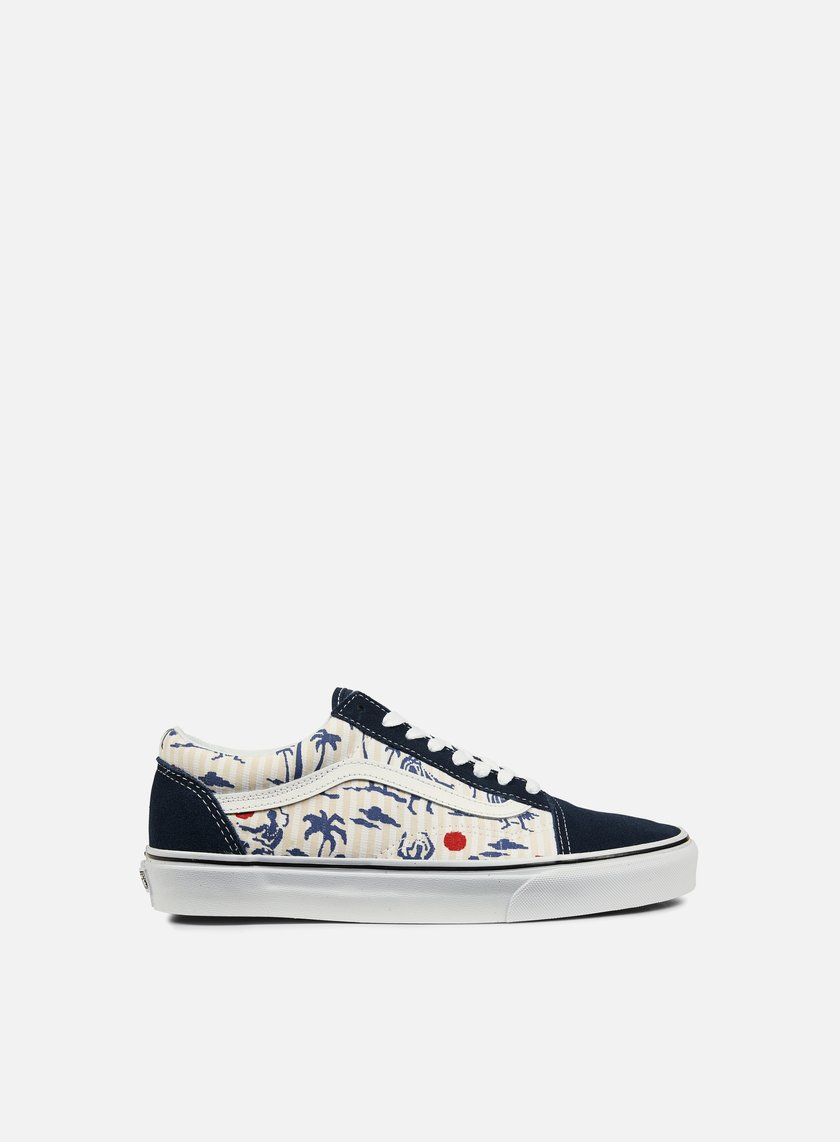 Vans - Old Skool Hula Stripes, Dress Blues/True White