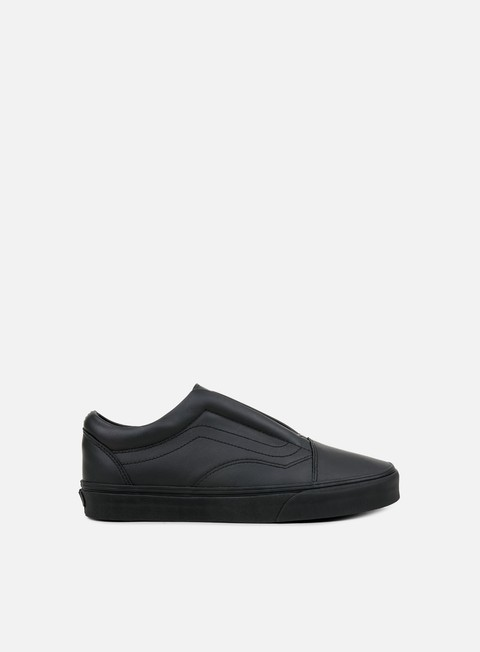 sneakers vans old skool laceless leather black
