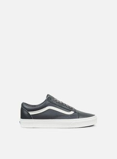 Vans - Old Skool Leather, Asphalt/Blanc De Blacn
