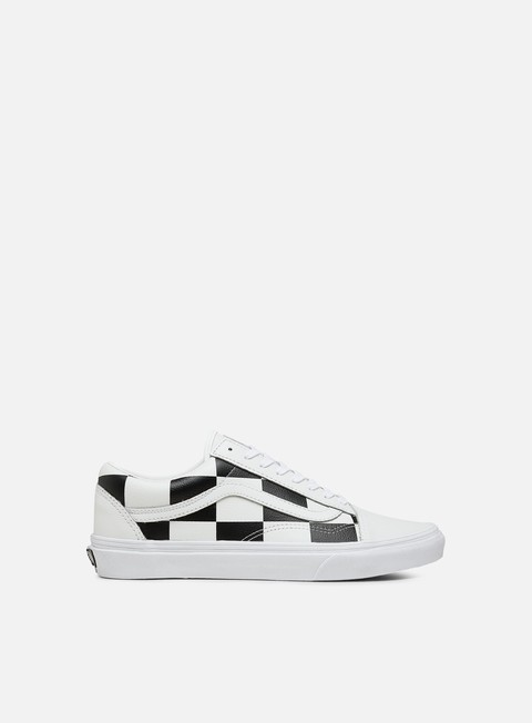 Sale Outlet Low Sneakers Vans Old Skool Leather Check