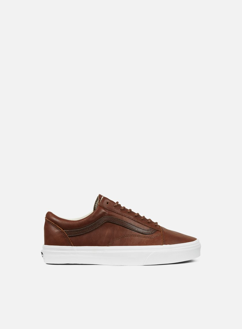 Vans - Old Skool Leather, Dachshund/Potting Soil